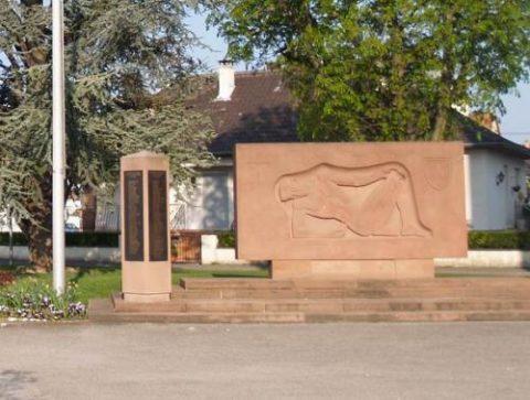 Le monument aux morts moderne