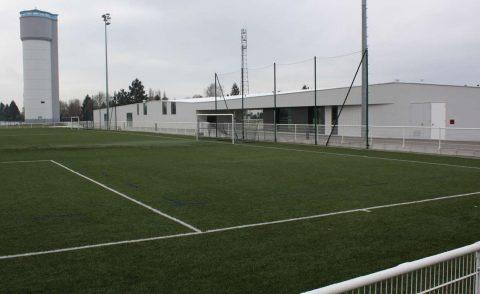 nouveau vestiaire ASG foot et terrain synthétique Gambsheim