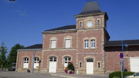 gare de Gambsheim en 2016